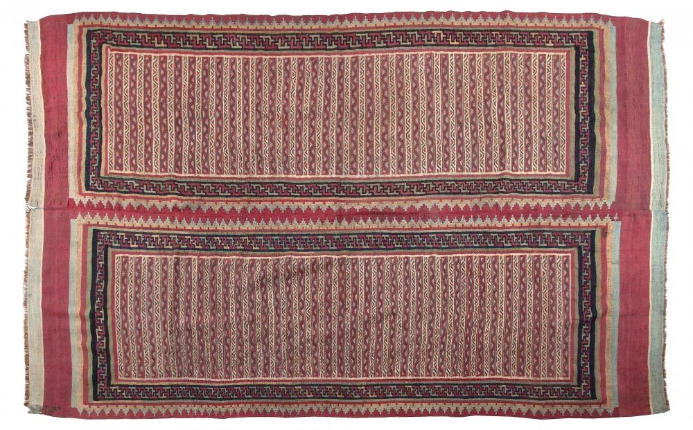 Килим. Центральная Персия (Иран). Конец 19 века.<br />Состав шерсть. Размер : 190х310 см. (000005с)