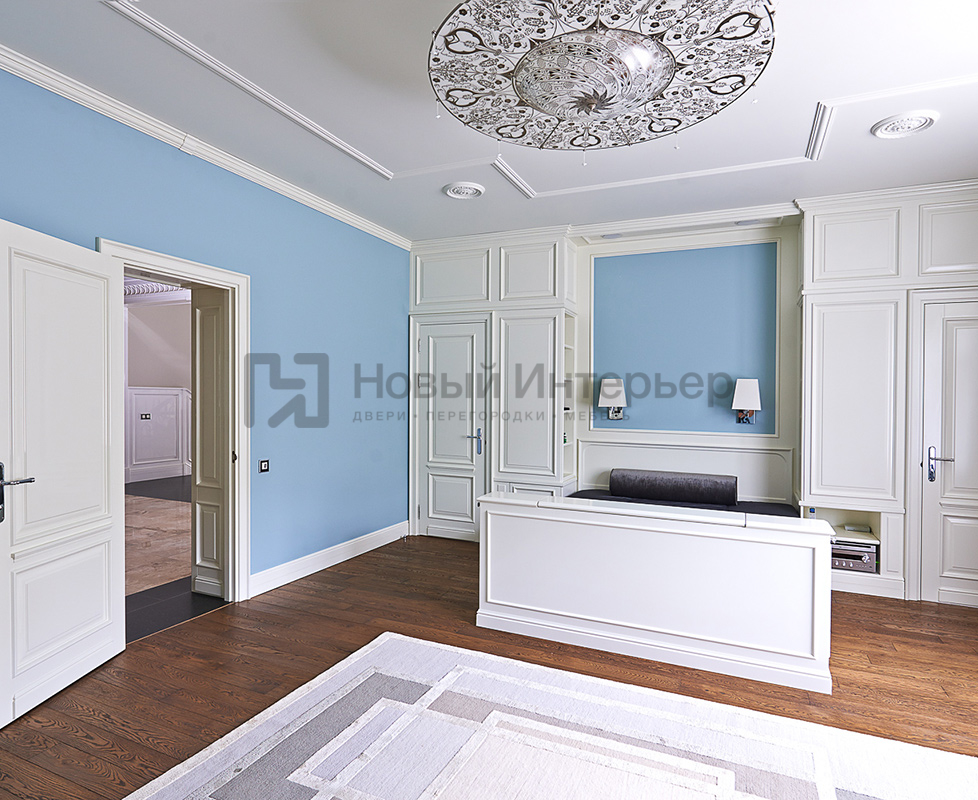 Шкафы со встроенными дверями, встроенная кровать по индивидуальному эскизу