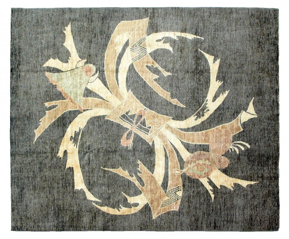 Кимоно. Франко-японский текстильный дизайн 1930-х годов.<br />Ковер соткан в Пакистане. Состав шерсть.<br />Размер : 251х298 см. (004203)