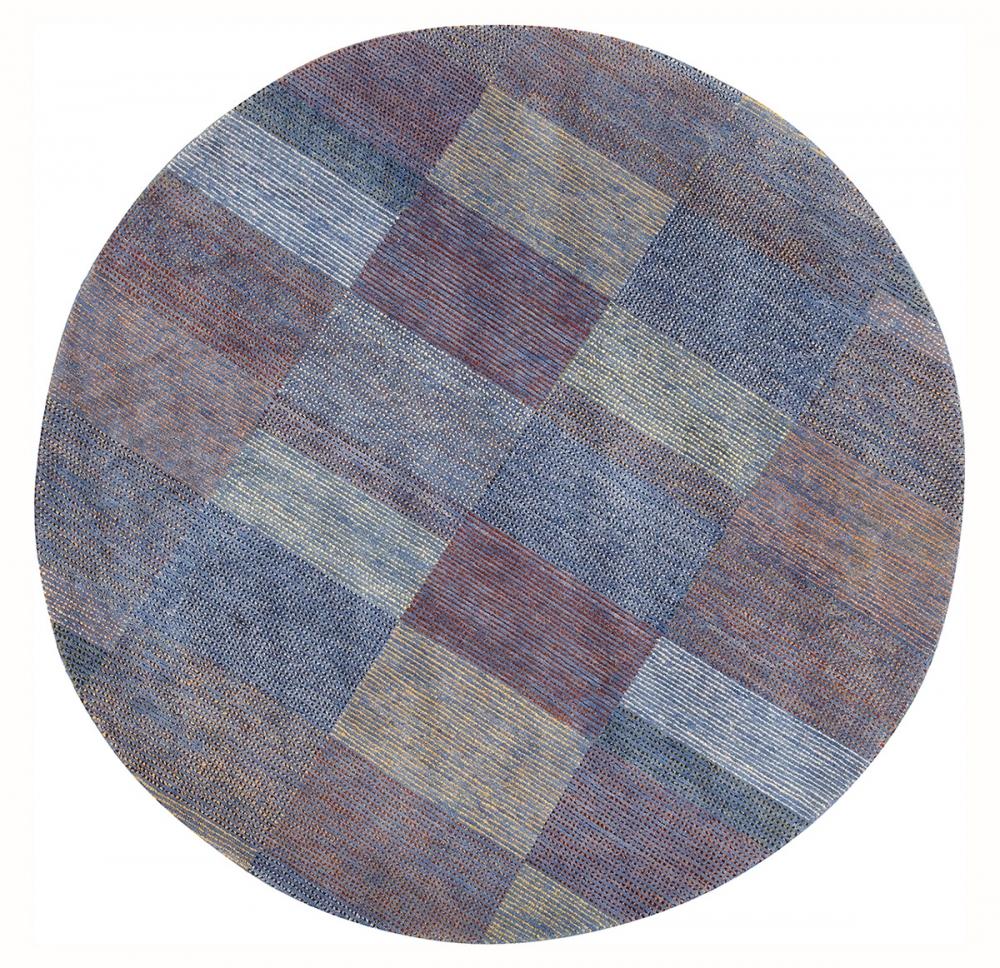 Ковер из коллекции Баухауз. Дизайн Гюнты Штольц.<br />1926 г. Германия. Реплика. Ковер соткан в Тибете.<br />Состав шерсть. Размер : 248х248 см. (006580)