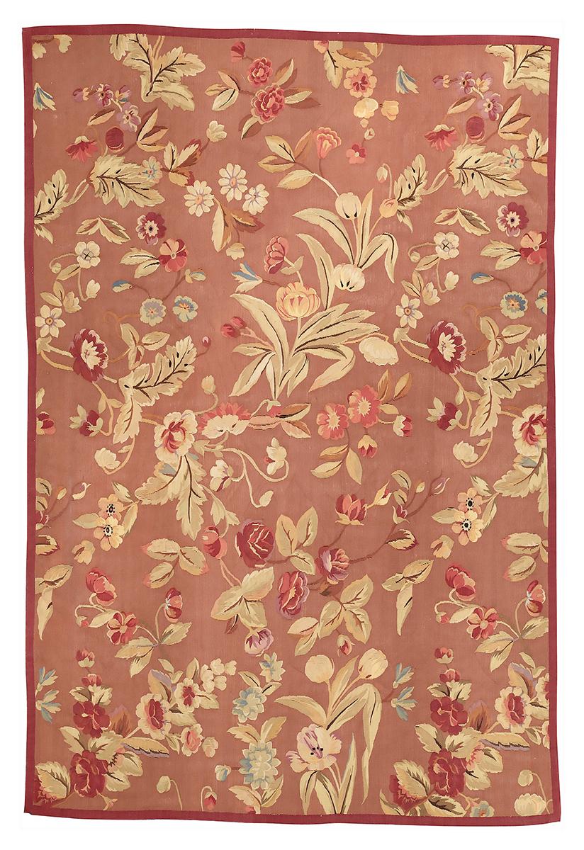 """Гобелен """"Понтремоли"""". Дизайн Британской вышивки 1920-х годов, мастерская Jacques Moreno Pontremoli (Лондон). Ручная работа. Современная копия. Состав шерсть. Размер : 178x263 см. (005039)"""