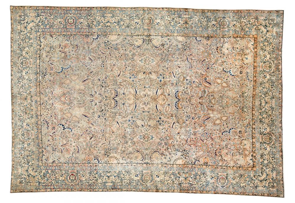 Сарук. Юго-запад Персии (Иран). 1890 год.<br />Состав шерсть. Размер : 297х427 см. (003522)