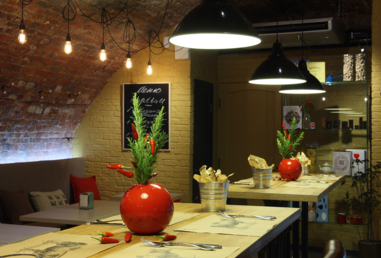 Ресторан Meatball Heaven<br />Реализация: октябрь 2013<br />Площадь: 110 м2<br />Фотограф: Михаил Степанов