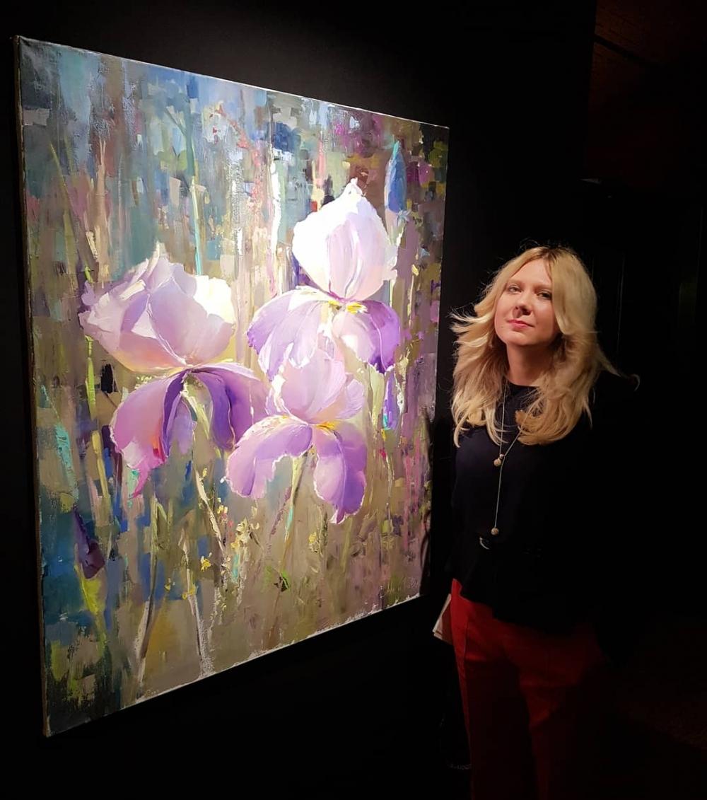 Участие в выставке Salon Des BeauxArt (Лувр, Париж)<br />Картина приобретена с выставки в частный дом в Бордо